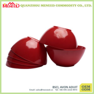 Homeware Colorful EU Standard Melamine Salad Bowl pictures & photos