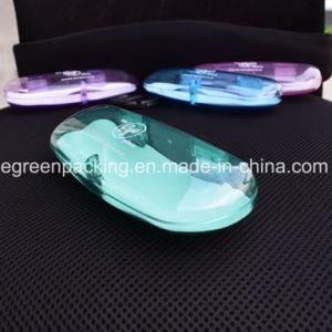 Most Popular Multi Color Transparent Magnetic Plastic Eyeglasses Case (PCZ7) pictures & photos