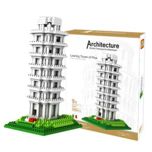 6739367-560PCS Pisa Tower Building Block Educational Toy for Cooperative Ability - World Great Architecture Series pictures & photos