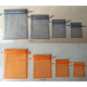 Organza Drawstring Gifts Pouch pictures & photos