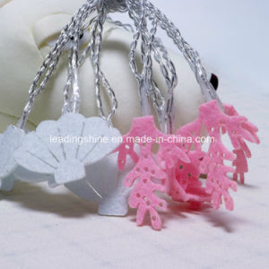 Cloth Art Shell Coral Shape LED Fairy Starry String Lights 3.3FT 10 LEDs Christmas Wedding Party Indoors pictures & photos