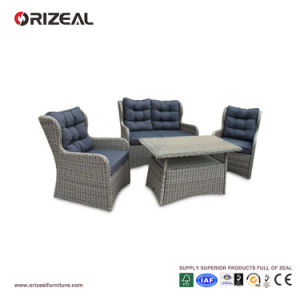 Outdoor Rattan 4PCS High Back Queen Sofa Set Oz-Or064 pictures & photos