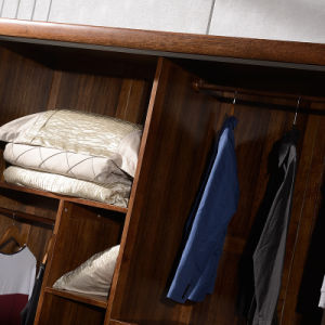 Antique Design Bedroom Furniture Wooden Wardrobe (GSP9-019) pictures & photos