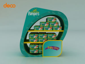 Corrugated Paper Display Cardboard Pop Display Stand pictures & photos