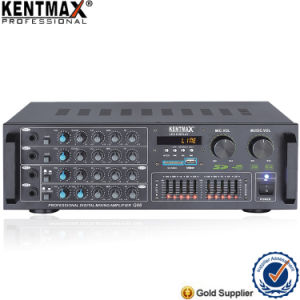 120W Audio Karaoke Power Amplifier with LED Display (Q88) pictures & photos