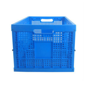 Egg Packing Plastic Collapsing Folding Crate Egg Crate pictures & photos