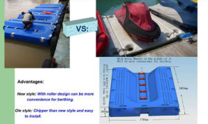 EPS Foam Filled PE Floating Motorboat Docked Panels pictures & photos