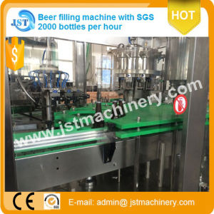 Full Automatic Beer Bottling Production Line pictures & photos