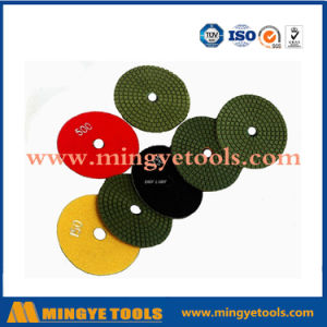 4 Inch Diamond Wet Polishing Pads for Marble and Granite pictures & photos