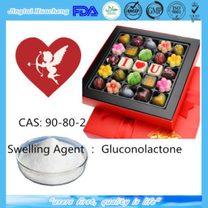 Gdl Gluconolactone for Food Additive Swelling Agent CAS: 90-80-2 pictures & photos