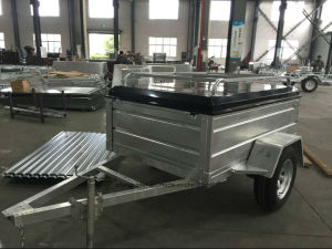 Hot Dipped Galvanised Canopy Trailer Factory pictures & photos
