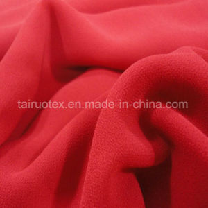 100% Polyester Silk Chiffon Fabric for Lady Dress Fabric pictures & photos