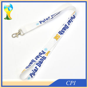 Polar Dash Sublimation Neck Lanyard with Care Label pictures & photos