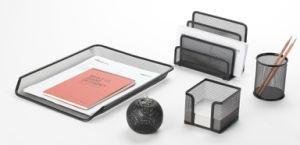 Desk Set/ Metal Mesh Stationery Office Set/ Office Desk Accessories pictures & photos