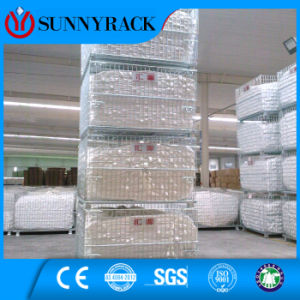 Stackable Turnover Metal Storage Wire Container