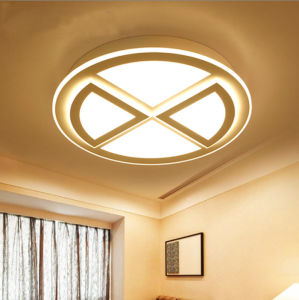 Very Latest Contemporary Round Acrylic LED Ceiling Lamp Lighting Lights for Living Room/Bedroom/Kitchen in 3 Sizes pictures & photos