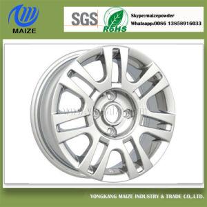 Silver Powder Coating for Alloy Wheel
