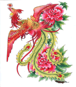 Fashionable Phoenix Temporary Tattoo Sticker Art Tattoo Sticker pictures & photos