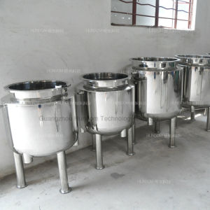 Stainless Steel Lotion Mixing Tank Cosmetic Emulsifying Machine pictures & photos