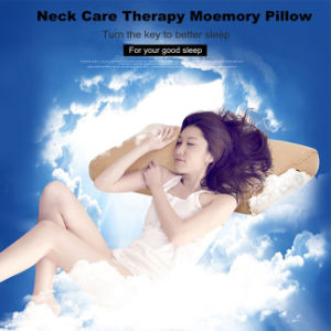 Negative Ion Memory Foam Neck Pillow pictures & photos