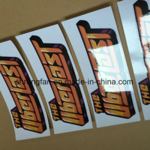 Fashionable Custom Shaped Self Adhesive Die Cut Sticker Printing pictures & photos