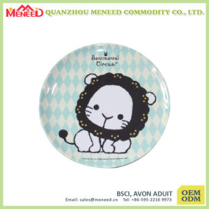 OEM Acceptable Quality Guaranteed 10 Inch Flat Plate in Melamine Material pictures & photos