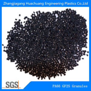 Black PA66GF25 Granules for Nylon Insulation Tape pictures & photos