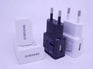 Mobile Phone EU UK Plug Portable USB Adapter Charger for Samsung Travel Wall Charger pictures & photos