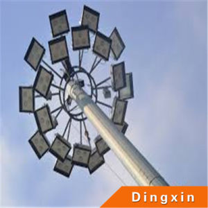 15m 18m 22m 25m 30m 35m High Mast Lighting Poles Prices of High Mast Light Towers for Karachi pictures & photos