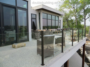 Stainless Steel Glass Railing Post Terrace Railing Designs pictures & photos