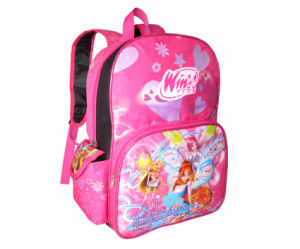 Glam Girl Cartoon School Backpack/Student Bag pictures & photos