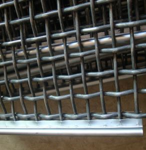 High Manganese Steel Crimped Wire Mesh Vibrating Screen Crusher Screen Mesh pictures & photos