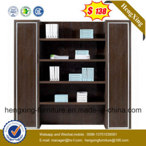 Walnut Office Furniture Filing Cupboard Fireproof File Storage Cabinet pictures & photos