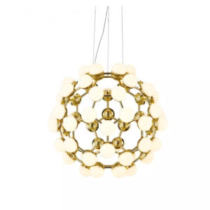 Gold Ball energy Saving Lighting Huge Haning Lamp pictures & photos
