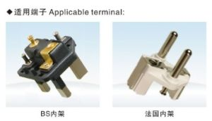 Crimping Usage Semi-Automatic 3 Flat Pin Inner Plug Insert Crimping Making Machine pictures & photos