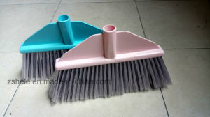 Hot Sell Indoor Plastic Cleaning Broom with Long Bristle pictures & photos