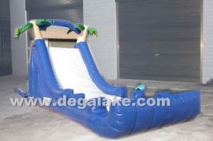 Inflatable Palm Tree Water Slide for Kids
