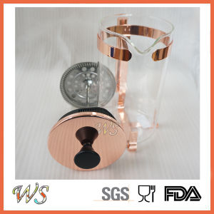 Wschsy013 French Press Copper/Rose-Gold/Gold Color Available Coffee Press pictures & photos