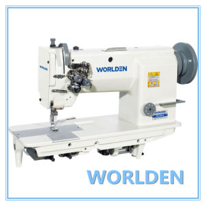 Wd-20528 High Speed Double Needle Lockstitch Sewing Machine pictures & photos