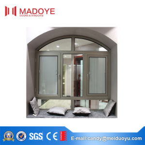 Guangdong Manufactory Hing Quality Casement Window with Shutters pictures & photos