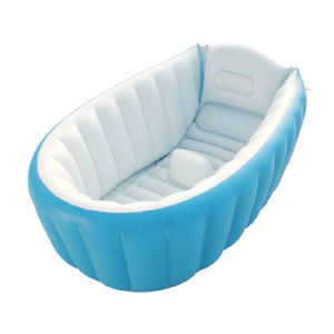 Orange Color Inflated 95cm Baby Bath Products PVC or TPU Inflatable Good Bathtub for Kids pictures & photos