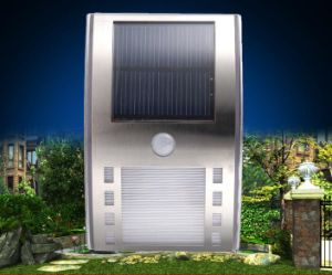 PIR Solar Wall Lamp pictures & photos