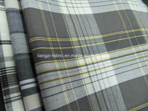 Cotton Yarn Dyed Big Repeat Check Fabric for Short Pants pictures & photos