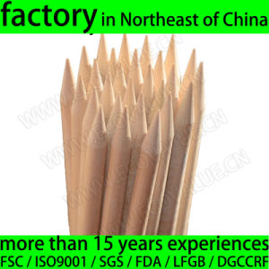 Diameter 6.0mm Barbecue Skewer Birch Wood Skewers for Australia Specially pictures & photos