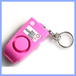 120dB Pink Key Chain Personal Alarm Lady Anti Rape Alarm Night Shift Workers Safety Alarm pictures & photos