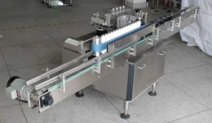 Cold Glue Paper Labeling Machine for Round Bottle pictures & photos
