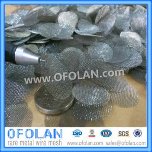 40 Mesh Molybdenum Wire Mesh/Cloth 100mmx1000mm Stock Supply pictures & photos