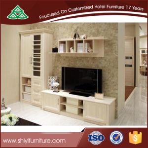 Family Room Furniture Solid Wood Oak TV Cabinet pictures & photos