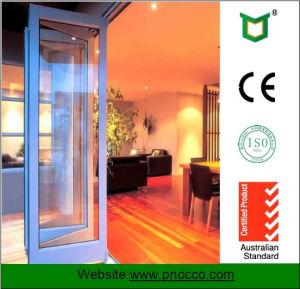 China Aluminum Bi Folding Door, Tempered Folding Glass Door ...