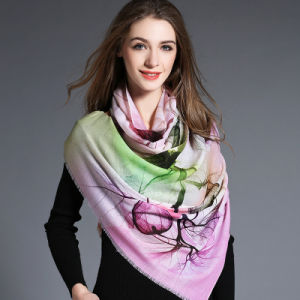 Digital Printing, Woolen Scarf for Women pictures & photos